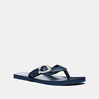 SIGNATURE經典釦環拖鞋