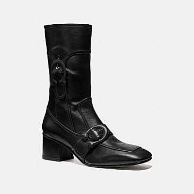 SIGNATURE BUCKLE BOOTIE