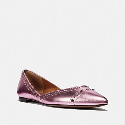 VALINTINA 釘飾平底鞋