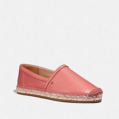 Casey Espadrille- Leather