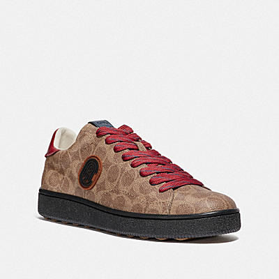 C101 LOW TOP SNEAKER WITH COACH PATCH