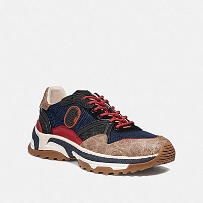 C143 COACH徽章運動鞋