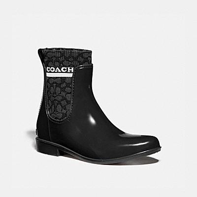 コーチ COACHのシグネチャー スタイル |リビングトン レイン ブーティ