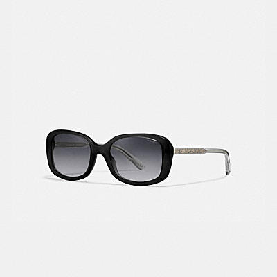 ASIA FIT SIGNATURE RECTANGLE SUNGLASSES