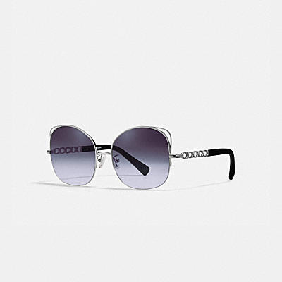 SIGNATURE CHAIN OPEN WIRE SUNGLASSES