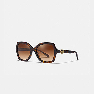 HORSE AND CARRIAGE GEOMETRIC SUNGLASSES