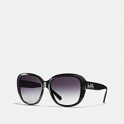 HORSE AND CARRIAGE SOFT SQUARE ASIAN FIT SUNGLASSES