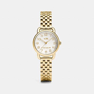 DELANCEY 鍍金腕錶
