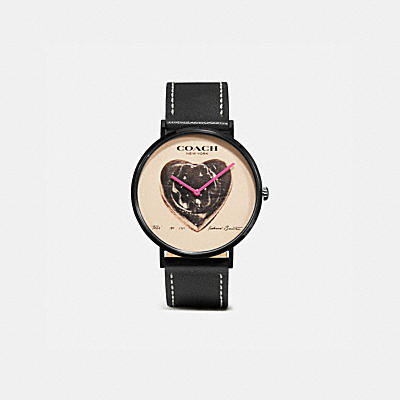COACH X RICHARD BERNSTEIN CHARLES WATCH, 41MM