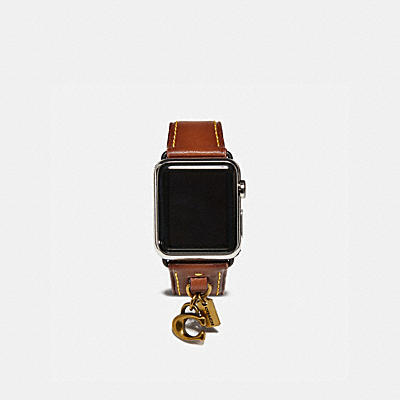 APPLE WATCH® 掛飾皮革錶帶