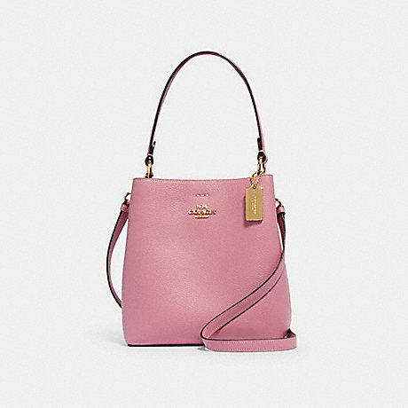 COACH 1011 SMALL TOWN BUCKET BAG IM/ROSE/MIDNIGHT