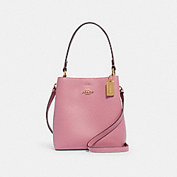 COACH 1011 - SMALL TOWN BUCKET BAG IM/ROSE/MIDNIGHT