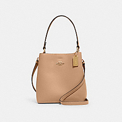 SMALL TOWN BUCKET BAG - IM/TAUPE OXBLOOD - COACH 1011