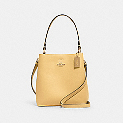 COACH 1011 - SMALL TOWN BUCKET BAG IM/VANILLA CREAM/LIGHT SADDLE