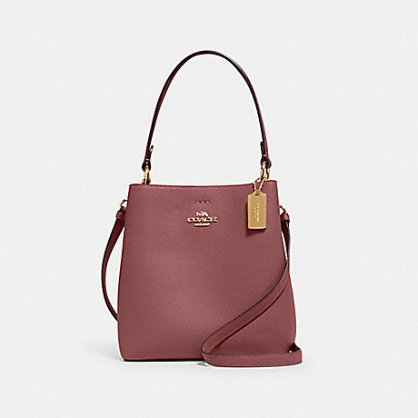 COACH 1011 SMALL TOWN BUCKET BAG IM/VINTAGE-MAUVE/TAUPE