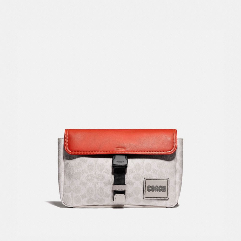 PACER BELT BAG IN SIGNATURE CANVAS WITH COACH PATCH