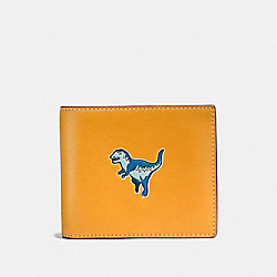 3-IN-1 WALLET WITH REXY - 11037 - GOLDENROD