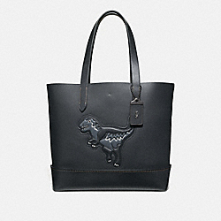 COACH 11087 Gotham Tote With Rexy JI/BLACK