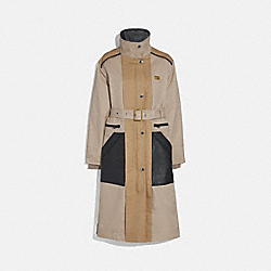 COACH 1111 Raincoat BONE