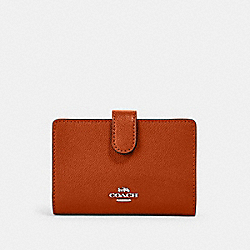 COACH 11484 - MEDIUM CORNER ZIP WALLET IM/SEDONA