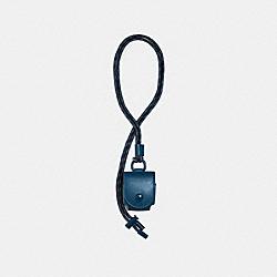 COACH 1170 Earbud Case Lanyard QB/REEF BLUE