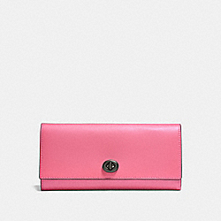 ENVELOPE WALLET - 12134 - BRIGHT PINK/BLACK COPPER