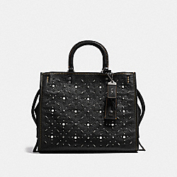 COACH 12164 - ROGUE WITH PRAIRIE RIVETS BP/BLACK