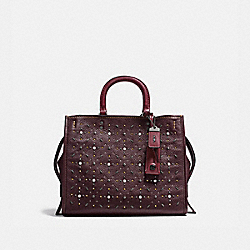 COACH 12164 - ROGUE WITH PRAIRIE RIVETS BP/OXBLOOD