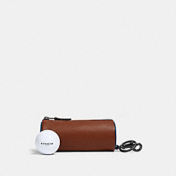 COACH 1271 - GOLF BALL SET IN COLORBLOCK QB/REDWOOD MUTLI