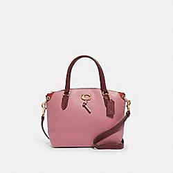 COACH 1316 Remi Satchel IM/ROSE/WINE