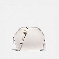 COACH 141 Zip Geometric Pouch B4/CHALK