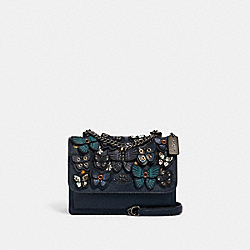 COACH 1425 - KLARE CROSSBODY WITH BUTTERFLY APPLIQUE QB/MIDNIGHT