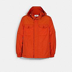 COACH 1431 Removable Sleeve Jacket ORANGE