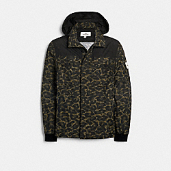 COACH 1431 - REMOVABLE SLEEVE JACKET CAMO ANIMAL