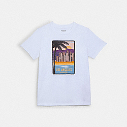 COACH 1538 Coach Los Angeles T-shirt WHITE