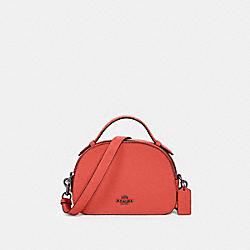 COACH 1589 Serena Satchel SV/TANGERINE