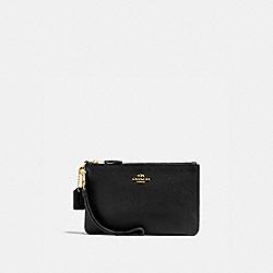COACH 16111B Boxed Small Wristlet LI/BLACK