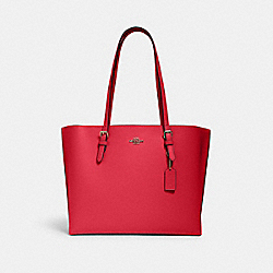 COACH 1671 - MOLLIE TOTE IM/ELECTRIC PINK WINE