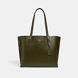 COACH 1671 - MOLLIE TOTE SV/CARGO GREEN/PALE GREEN