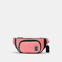 COURT BELT BAG IN SIGNATURE NYLON - 1685 - SV/PINK LEMONADE