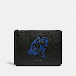 COACH 1825 Coach │ Marvel Large Pouch With Black Panther QB/BLACK MULTI