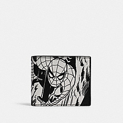 COACH 1837 Coach │ Marvel 3-in-1 Wallet With Comic Book Print QB/BLACK MULTI