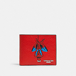 COACH 1845 Coach │ Marvel 3-in-1 Wallet With Spider-man SV/MIAMI RED