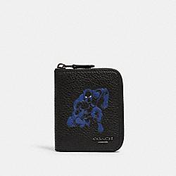 COACH 1869 Coach │ Marvel Medium Zip Around Wallet With Black Panther QB/BLACK MULTI