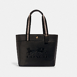 COACH 1896 - JES TOTE WITH HORSE AND CARRIAGE IM/BLACK