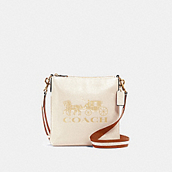 COACH 1897 - JES SLIM CROSSBODY WITH HORSE AND CARRIAGE IM/CHALK