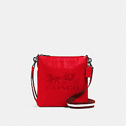 COACH 1897 - JES SLIM CROSSBODY WITH HORSE AND CARRIAGE QB/MIAMI RED