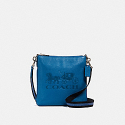 COACH 1897 Jes Slim Crossbody With Horse And Carriage SV/BLUE JAY