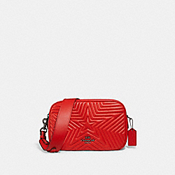 COACH 1904 Jes Crossbody With Star Quilting QB/MIAMI RED
