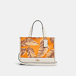 DEMPSEY CARRYALL WITH BANANA LEAVES PRINT - 1952 - IM/REDWOOD SUNBEAM MULTI